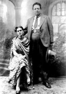 Frida en Diego Rivera