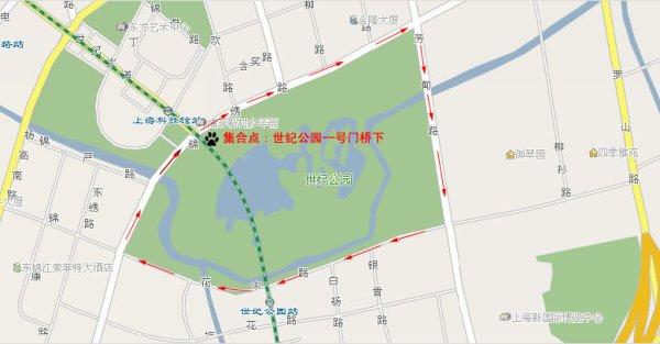 世纪公园---跑步训练日志20080705