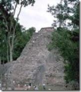 La Pyramide Nohoch-Muul a Coba