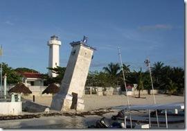 Les deux Phares de Puerto Morelos